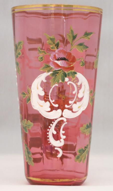Moser Handpainted Juice Glass