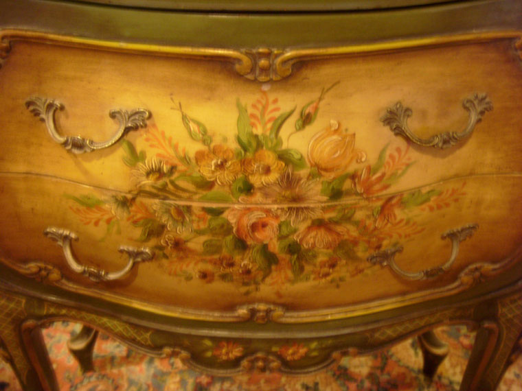 Painted Bombay Chest