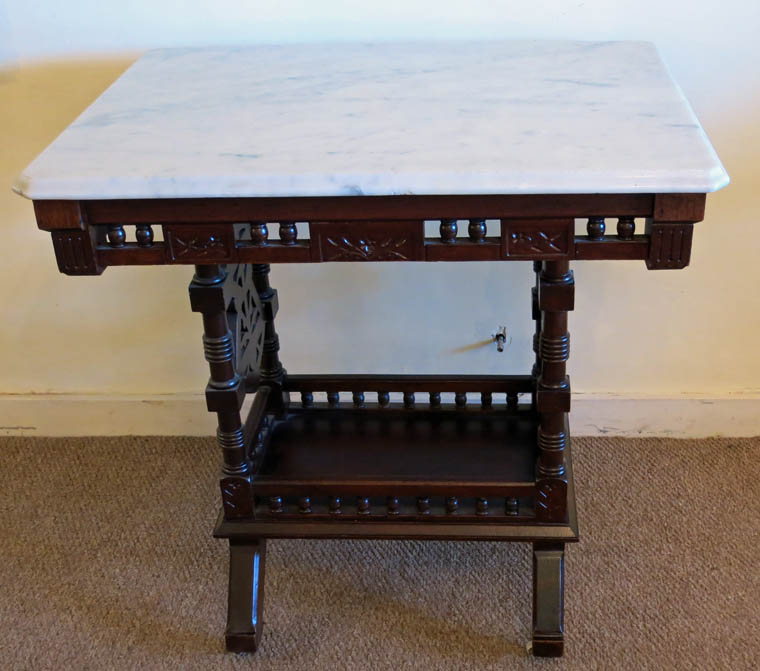 Eastlake Victorian Parlor Table