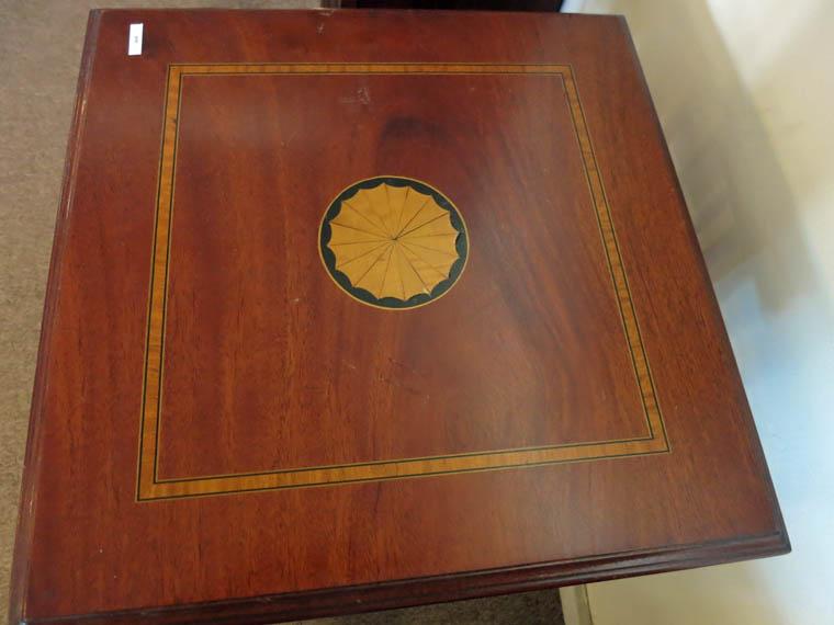 Revolving Mahogany Bookcase