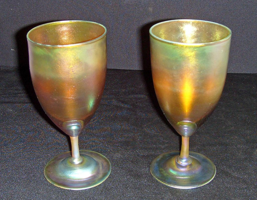 Tiffany Favrile Drinking Goblet