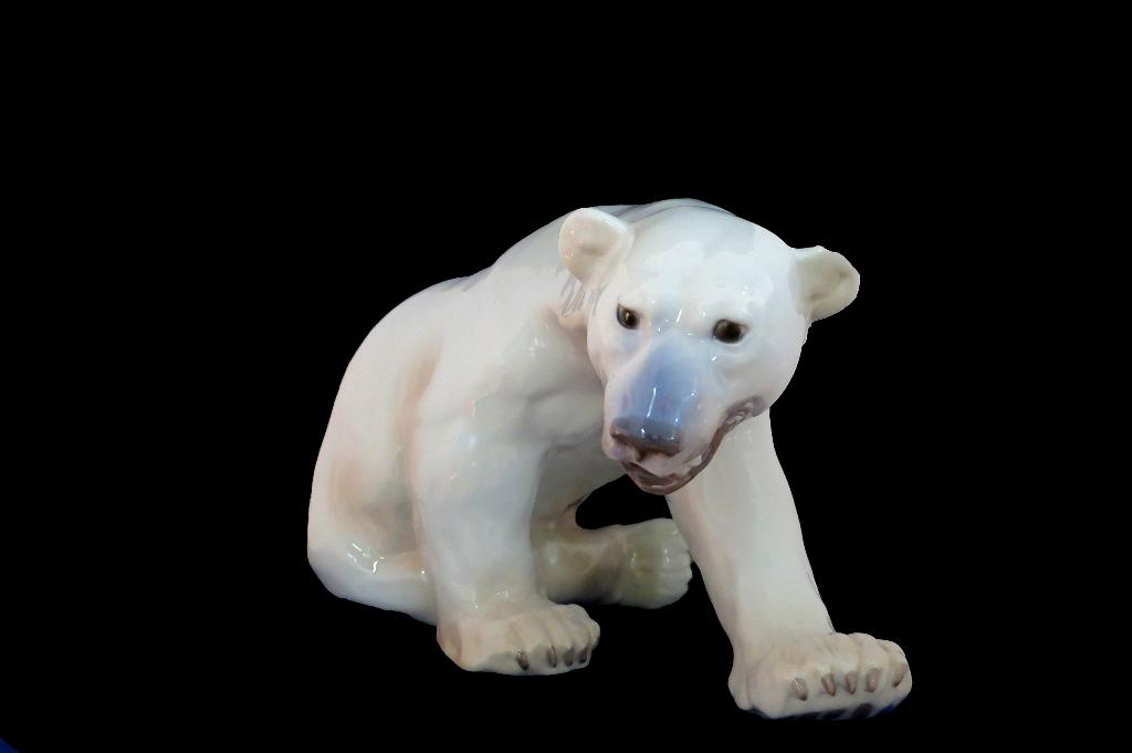Huge B&G Polar Bear Figurine