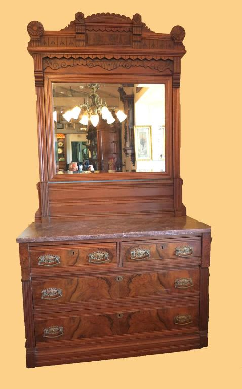 Victorian New Orleans Half Tester Bedroom Set