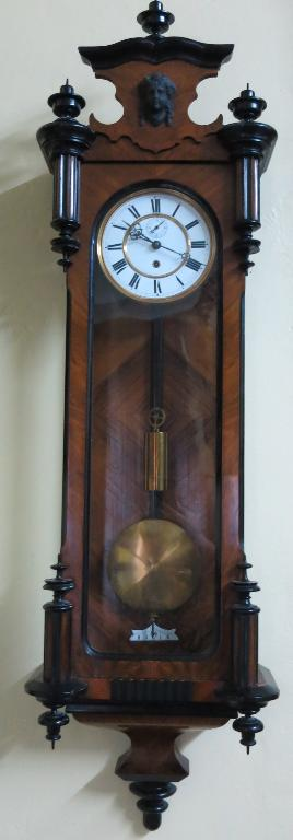 Victorian Hanging Wall Clock