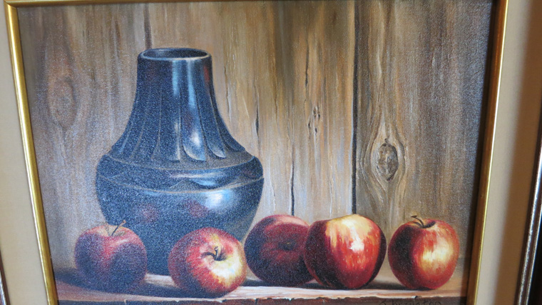 Sue Krzyston Oil on Canvas -