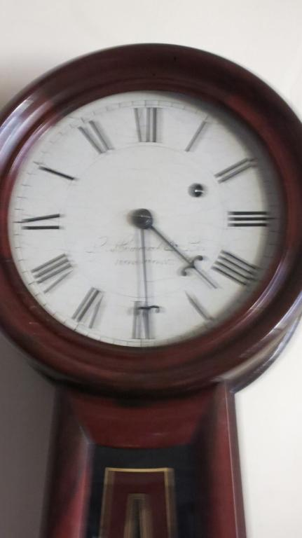 Antique Howard & Co. Boston Banjo Wall Clock