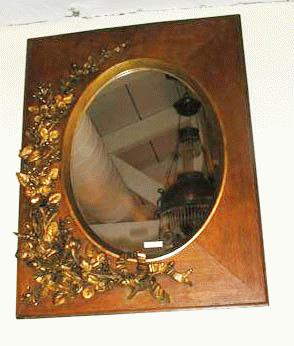 Oak Wall Mirror/Frame
