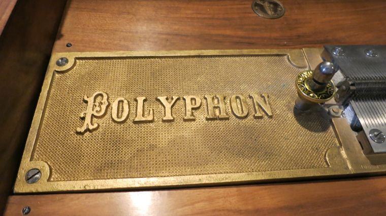 Polyphon Marquetry Disc Music Box