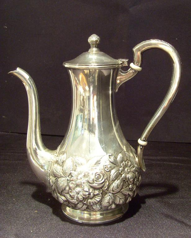 S. Kirk & Son Repousse Tea Pot