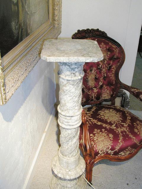 Alabaster Pedestal