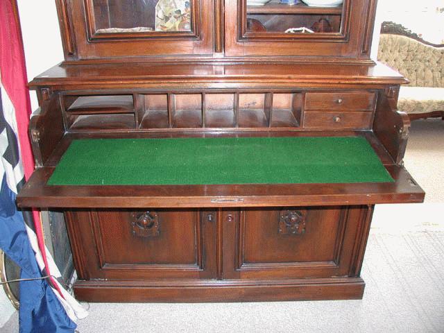 American Victorian Secretary Desk