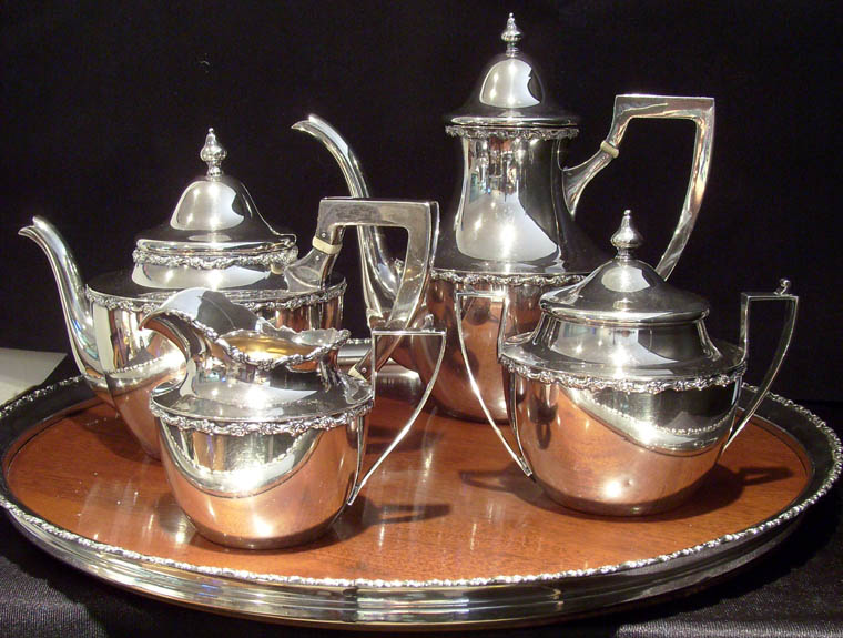 Shreve & Co. Sterling Tea Set