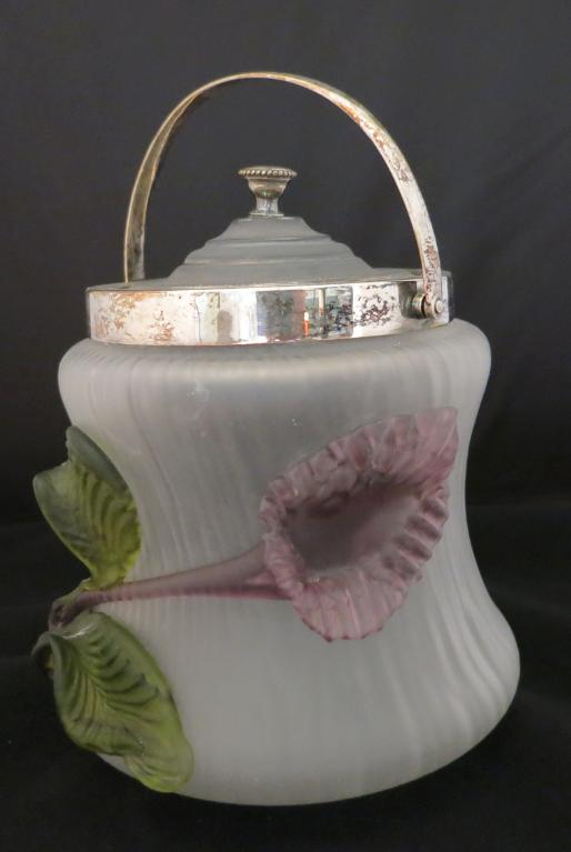 Glass Biscuit Jar