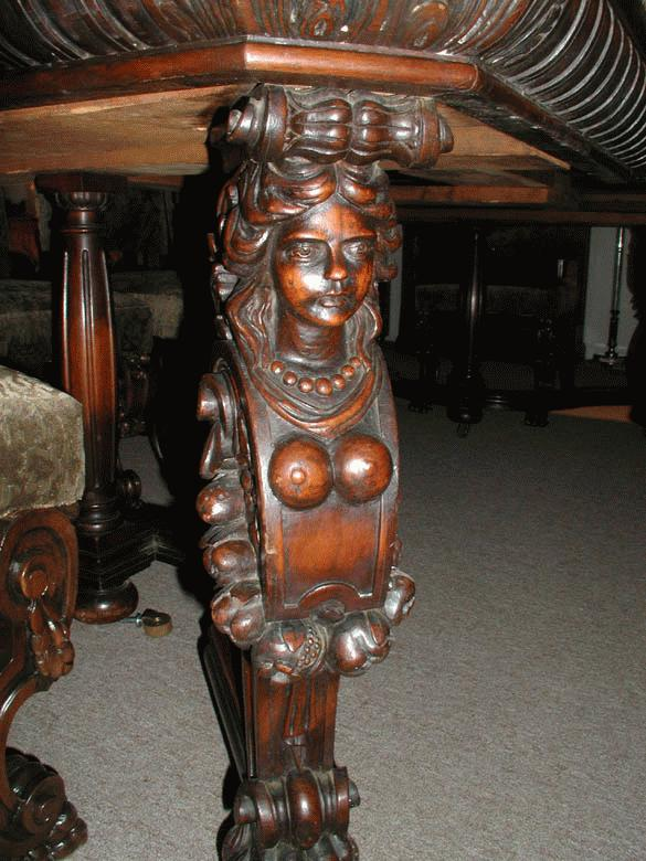 Carved Horner Dining Room Table