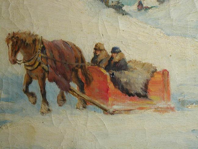 Oil on Canvas by Paul Caron