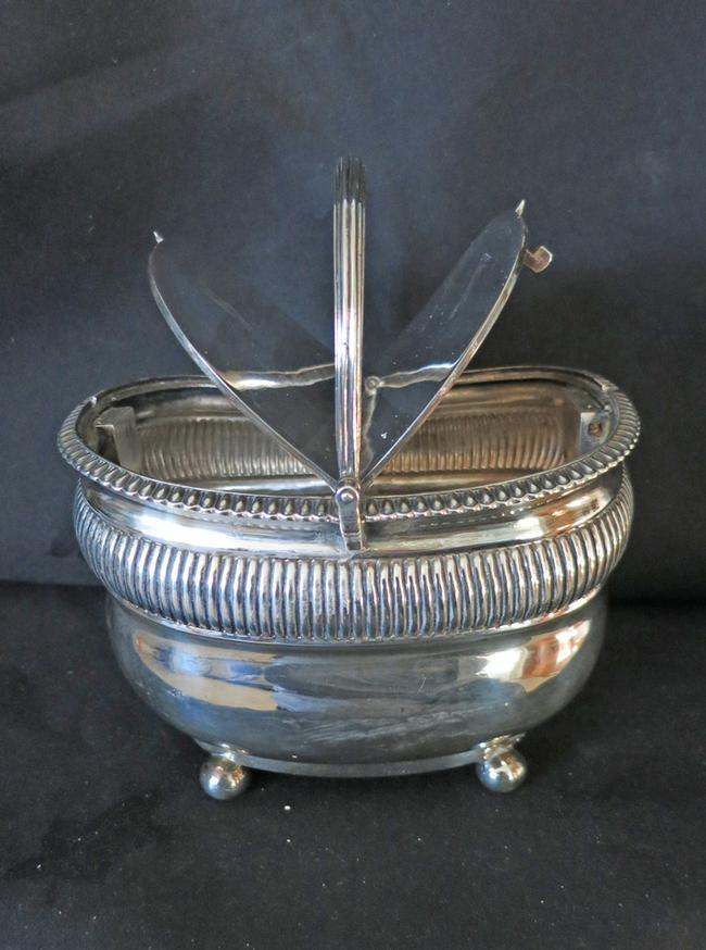 Antique Sterling Silver English Tea Caddy