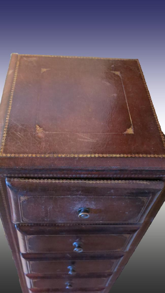Maitland Smith Cabinet/Jewelry Chest