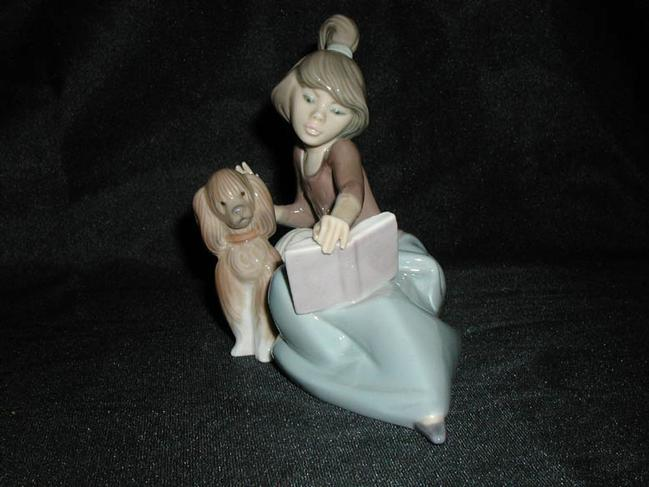 Lladro Figurine #5475 A Lesson Shared