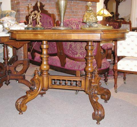 English Victorian Table