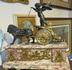 French Bronze and Marble Clock - Napoleon's Tomb