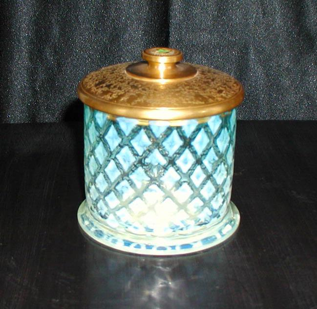 Tiffany Covered Jar
