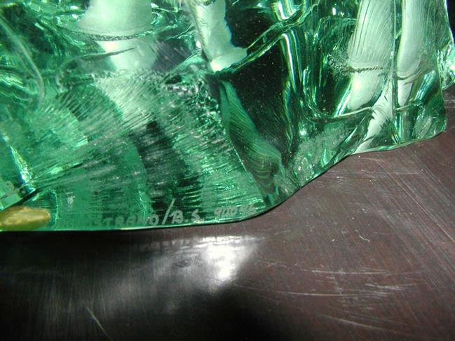 Kosta Linstrand Glass Sculpture